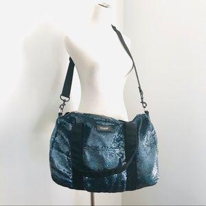 Victoria Secret PINK Sequin Duffle Bag